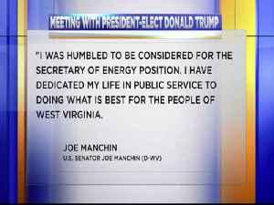 Trump meets Manchin 1 [Video]