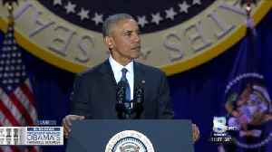 President Obama delivers farewell speech [Video]