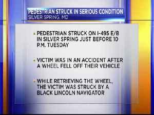 Pedestrian struck in Silver Spring [Video]