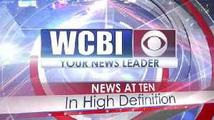 WCBI News at Ten - Monday, September 30th, 2019 [Video]