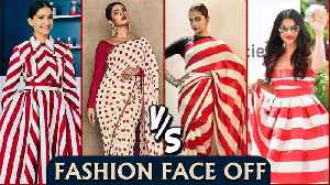 Priyanka, Deepika, Aishwarya, Sonam | Who Wore The Red White Strip Dress Better? [Video]