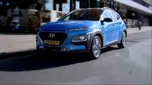 The new Hyundai Kona Hybrid Highlights [Video]