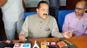Actricle 370 provided fodder for terrorism to flourish: Jitendra Singh [Video]