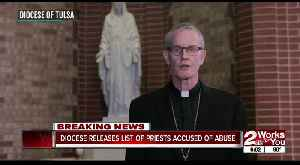 Diocese releases list of priests accused of abuse [Video]