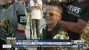 Jackie interviews Vegas Golden Knights fans ahead of home opener [Video]