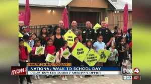 National walk to school day [Video]