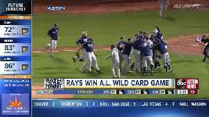 Diaz hits 2 homers, Rays beat A's in AL Wild Card game [Video]