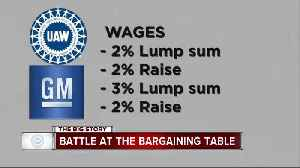 Economic issues holding up a deal on day 18 of General Motors strike by UAW [Video]