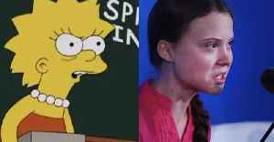 Did The Simpsons Predict Greta Thunberg's Speech At The UN Climate Summit [Video]
