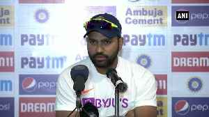 News video: Rohit shines as Test Opener, says mental preparation is important