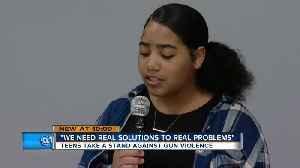 Milwaukee teens taking action amid growing gun violence [Video]