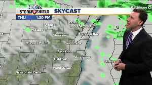 Michael Fish's NBC26 weather forecast [Video]
