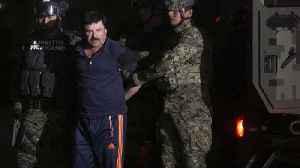 Prosecutors Say El Chapo 'Gave $1 Million Bribe to Honduran President's Brother' [Video]