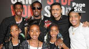 Diddy's son Quincy says dad loves to embarrass his kids [Video]