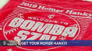 News video: 'Welcome To Bomba SZN': 2019 Twins Homer Hanky Revealed
