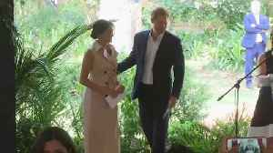 Prince Harry And Meghan Markle Wrap Up Royal Tour [Video]