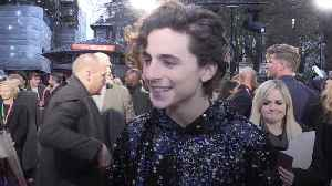 Timothee Chalamet relieved he did not get a 'stake through the heart' for taking on Henry V role [Video]