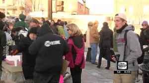 Group rallies against temporary halt to U.S. refugee program [Video]