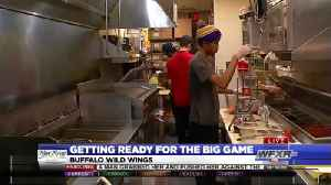Restaurants preparing for hungry Super Bowl fans [Video]