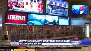 Wings restaurant prepares for a busy Super Bowl [Video]