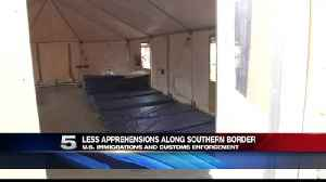 ICE Notes Less Apprehensions along Southern Border [Video]