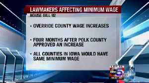 House bill 92 could freeze minimum wage [Video]