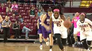 nmsu wbb wins 11th straight [Video]