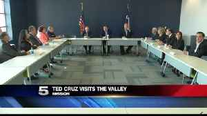 Texas Senator Ted Cruz Visits the Rio Grande Valley [Video]