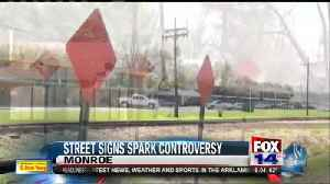 Street Sign Sparks Controversy [Video]