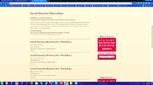 Free workshops to learn about Social Security [Video]