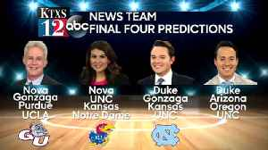 KTXS News team dishes out its Final Four selections [Video]