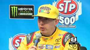 Kyle Busch reflects winning spring race last year [Video]