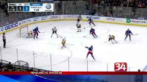 Rangers/Penguins 4.10.17 [Video]