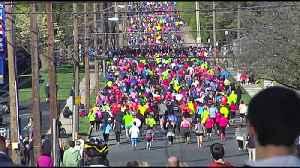 Half-marathon in Allentown [Video]