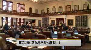 Texas House Passes Senate Bill 4 [Video]