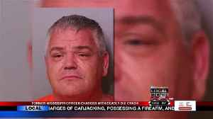Deadly DUI Former MS Officer Charged [Video]