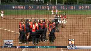 Illini SB, BSB win [Video]