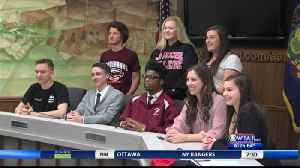Eight at Altoona sign on to compete at next level [Video]