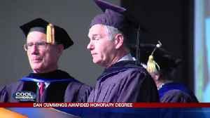 Dan Cummings Awarded Honorary Degree: 5-15-17 [Video]