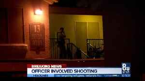 Officer-involved shooting on west side of town [Video]