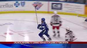 Crunch heading to Grand Rapids for Game 6 tomorrow [Video]