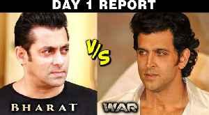 Hrithik Roshan DEFEATS Salman Khan | WAR V/S Bharat | Box Office Collections [Video]