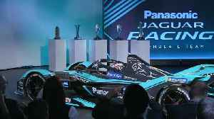 Jaguar I-TYPE 4 Reveal Moment [Video]