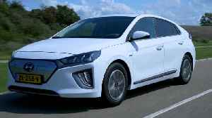 The new Hyundai IONIQ Electric Driving in the country [Video]