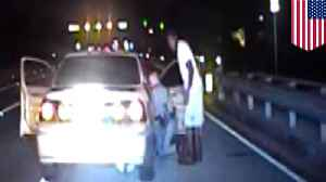 Deputy pulls car over for speeding, ends up delivering a baby [Video]