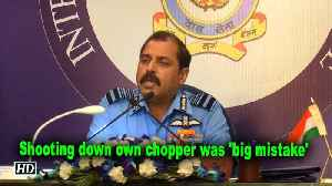 IAF boss accepts shooting down own chopper was 'big mistake' [Video]