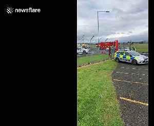 'Suspicious package' at Glasgow Airport declared safe by emergency services [Video]