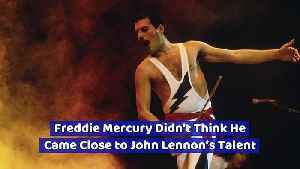 Freddie Mercury Didn't Think He Came Close to John Lennon's Talent [Video]