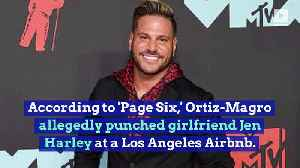 'Jersey Shore' Star Ronnie Ortiz-Magro Arrested for Suspected Domestic Violence [Video]