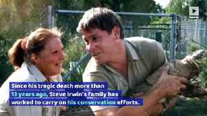 Steve Irwin's Family Opens Elephant Hospital in His Honor [Video]